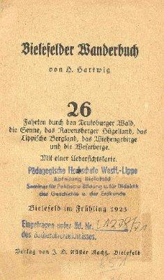 Bielefelder Wanderbuch