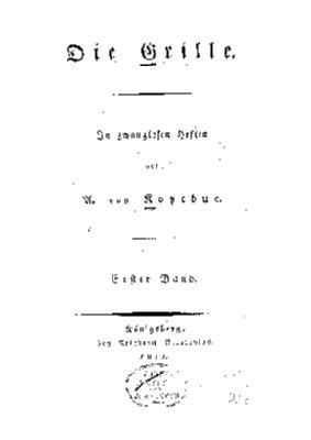1. Bd., (1811)