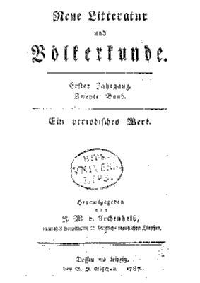 1. Jahrgang, 2. Band (1787)