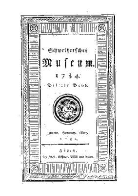 1. Jahrgang, 3. Band (1784)