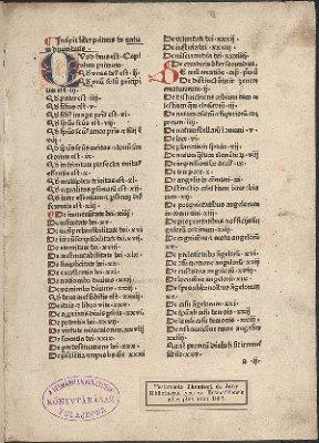 Incipit liber primus de natura divinitatis (Compendium theologice veritatis)