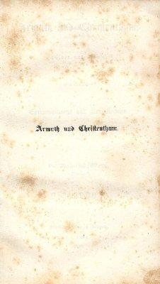 Armuth und Christenthum